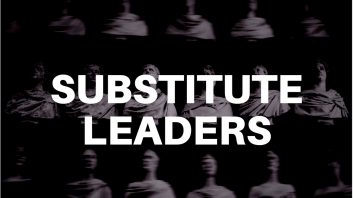 Substitute Leaders By Dr. Tommy Weir, Global CEO Coach